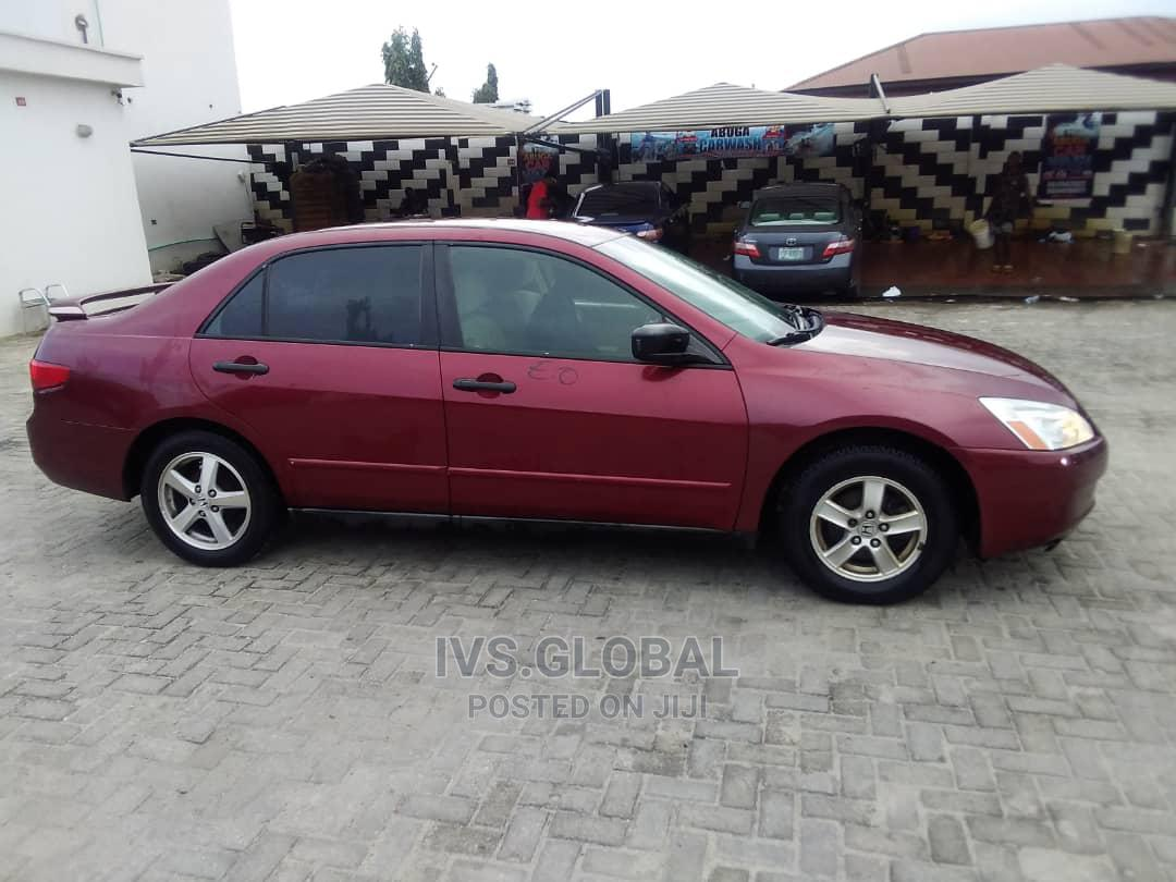 Archive: Honda Accord 2005 Red