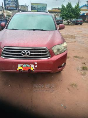 Toyota Highlander 2008 Red | Cars for sale in Anambra State, Onitsha