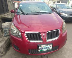 Pontiac Vibe 2009 1.8L Red | Cars for sale in Lagos State, Mushin