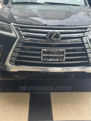 New Lexus LX 2021 570 (5 Seats) AWD Black | Cars for sale in Lagos State, Ikoyi