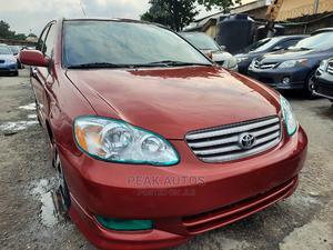 Toyota Corolla 2004 S Red | Cars for sale in Lagos State, Amuwo-Odofin