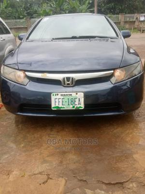 Honda Civic 2007 1.8 Blue   Cars for sale in Oyo State, Oluyole
