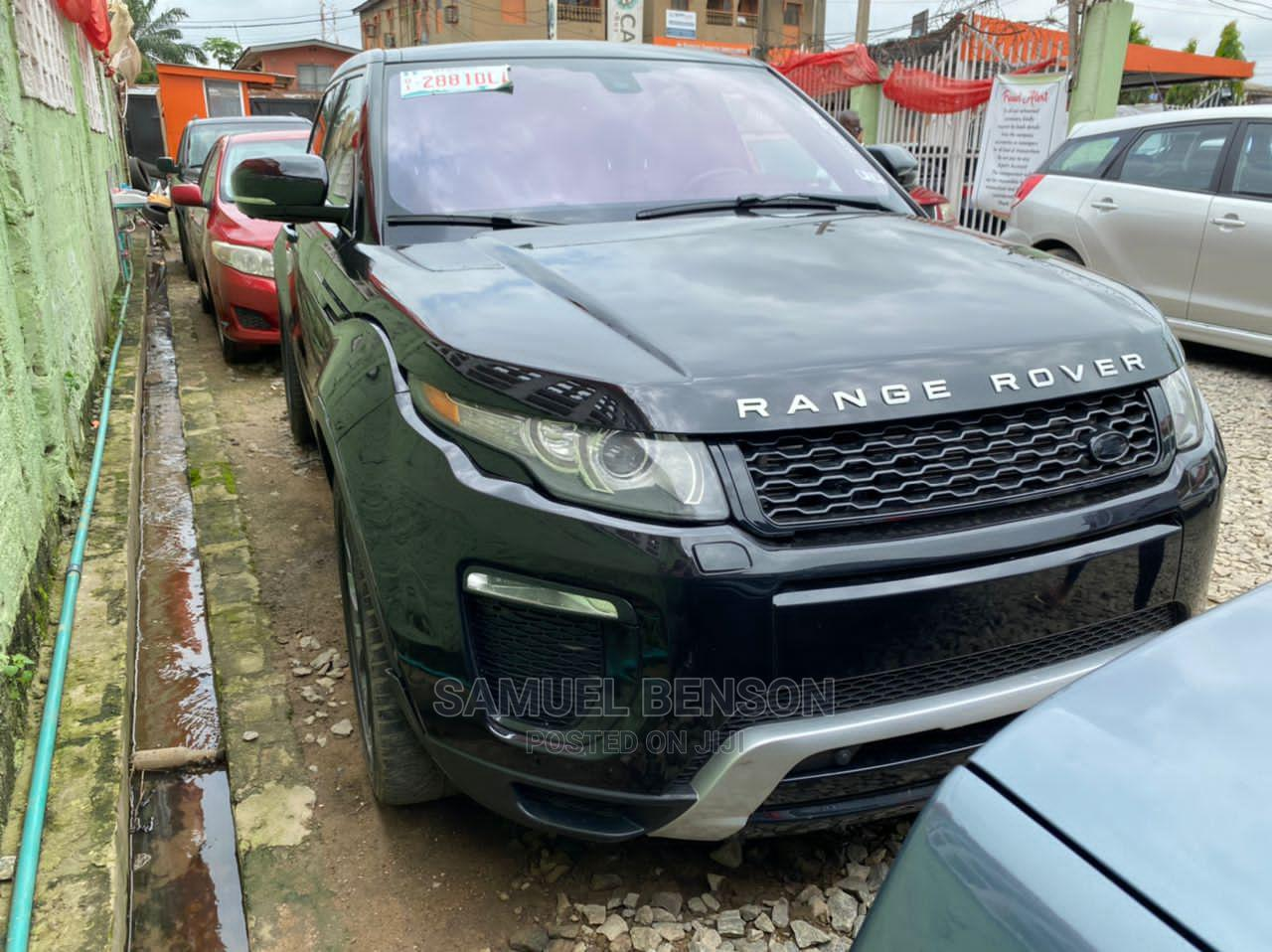 Archive: Land Rover Range Rover Evoque 2015 Black