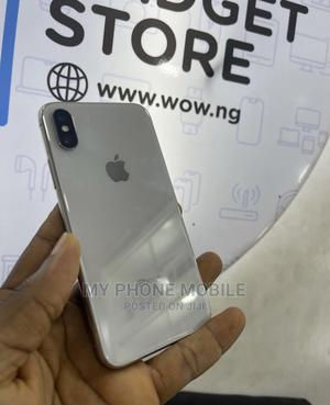 Apple iPhone X 64 GB Silver   Mobile Phones for sale in Lagos State, Surulere