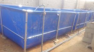 Mobile Fish Pond Tarpaulins Collapsible   Farm Machinery & Equipment for sale in Lagos State, Mushin