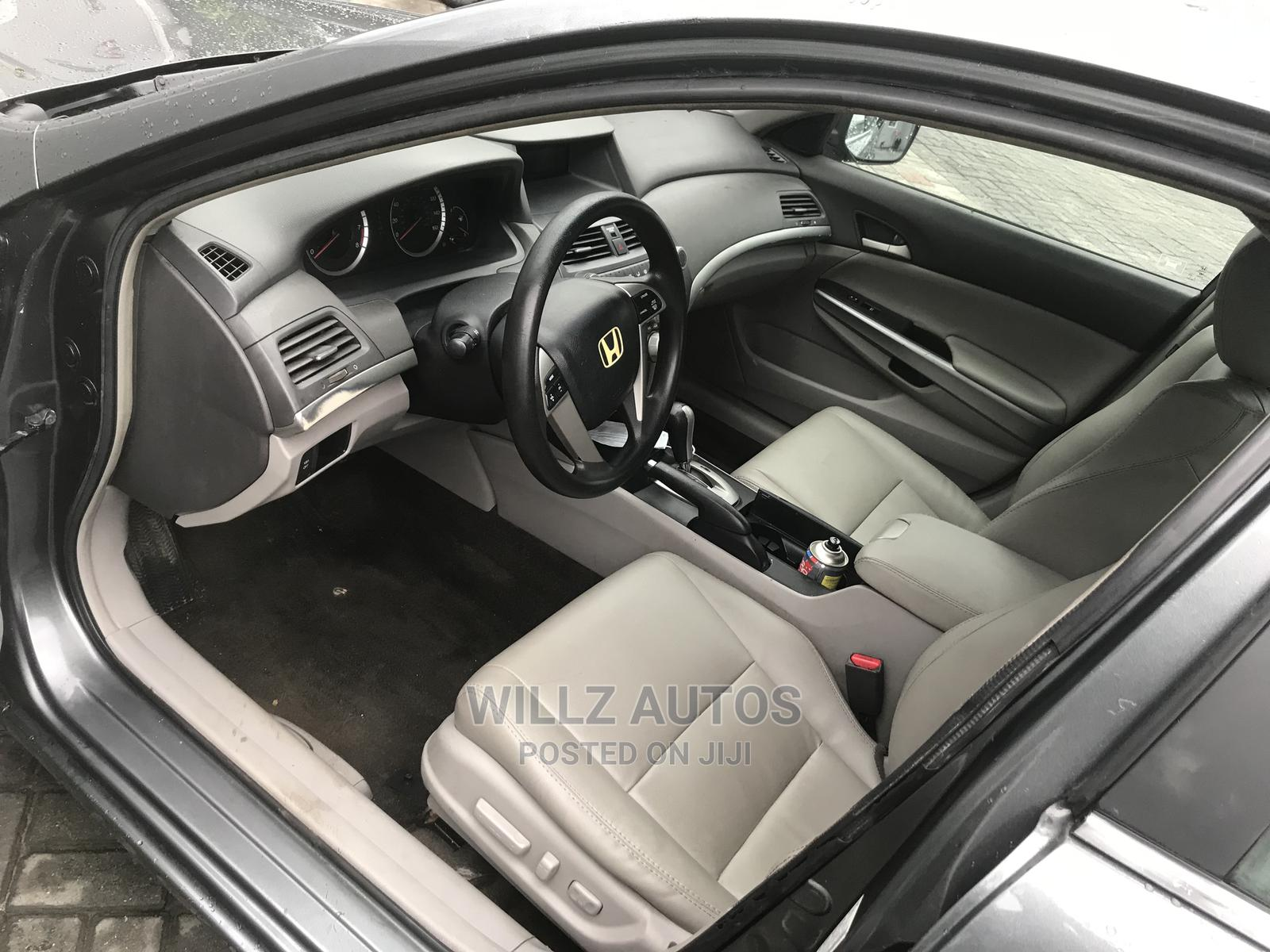 Honda Accord 2008 2.0 Comfort Automatic Gray | Cars for sale in Ajah, Lagos State, Nigeria