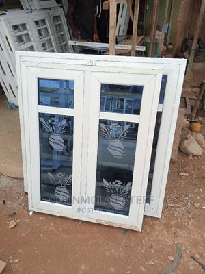 Casement Window and Design With Burglary and Net | Windows for sale in Oyo State, Ibadan
