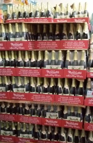 Martinellis Apple Cider Wine. 4 in a Pack, 8.5k   Meals & Drinks for sale in Lagos State, Ajah