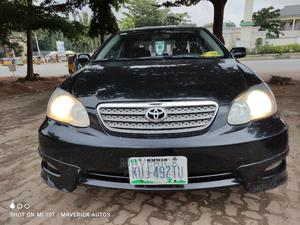 Toyota Corolla 2003 Sedan Automatic Black | Cars for sale in Abuja (FCT) State, Gwarinpa