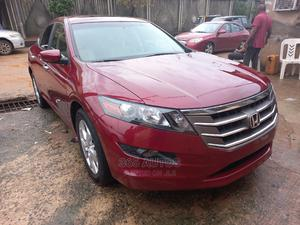 Honda Accord Crosstour 2010 EX-L AWD Burgandy | Cars for sale in Lagos State, Isolo