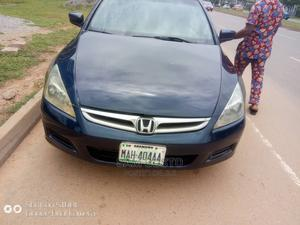 Honda Accord 2007 2.4 Blue | Cars for sale in Abuja (FCT) State, Wuse