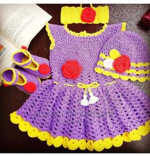 4 Piece Baby Girl Crochet Dress. | Children's Clothing for sale in Lagos State, Yaba