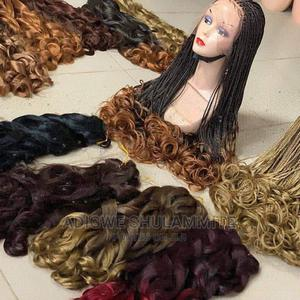 Curly Braided Wigs | Hair Beauty for sale in Lagos State, Ikeja