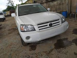 Toyota Highlander 2006 V6 4x4 White   Cars for sale in Lagos State, Abule Egba