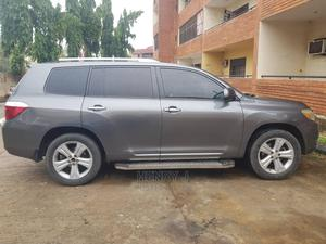 Toyota Highlander 2008 4x4 Gray   Cars for sale in Abuja (FCT) State, Kubwa