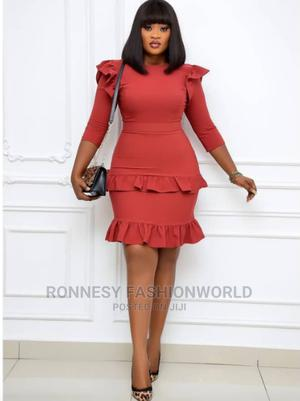 Trendy Female Quality Fitted Short Gown | Clothing for sale in Lagos State, Ikeja