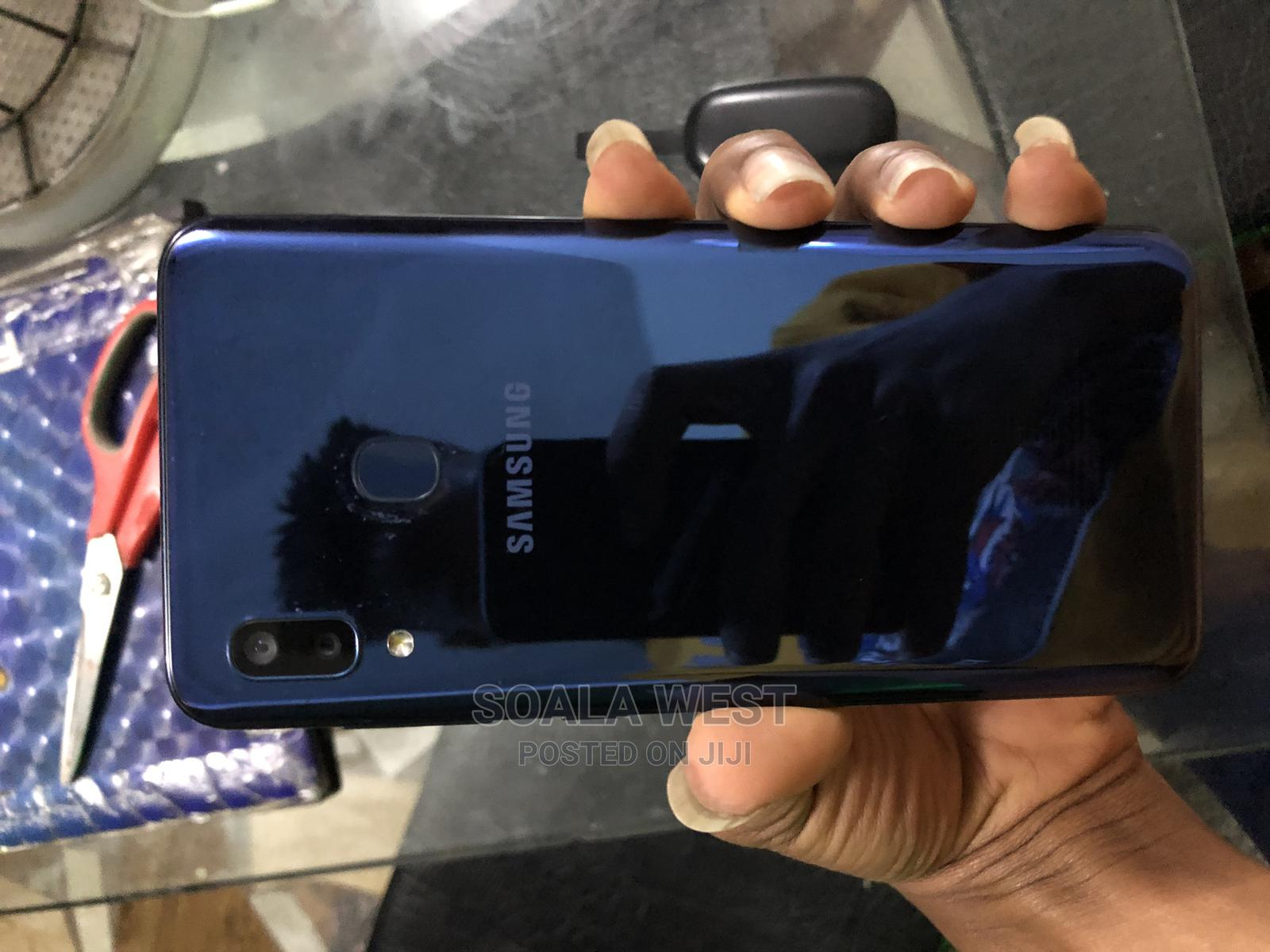 Samsung Galaxy A20 32 GB Blue | Mobile Phones for sale in Port-Harcourt, Rivers State, Nigeria