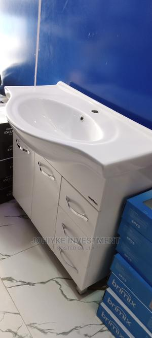 High Quality Double Drower Cabinet Washand Basin   Plumbing & Water Supply for sale in Abuja (FCT) State, Dei-Dei