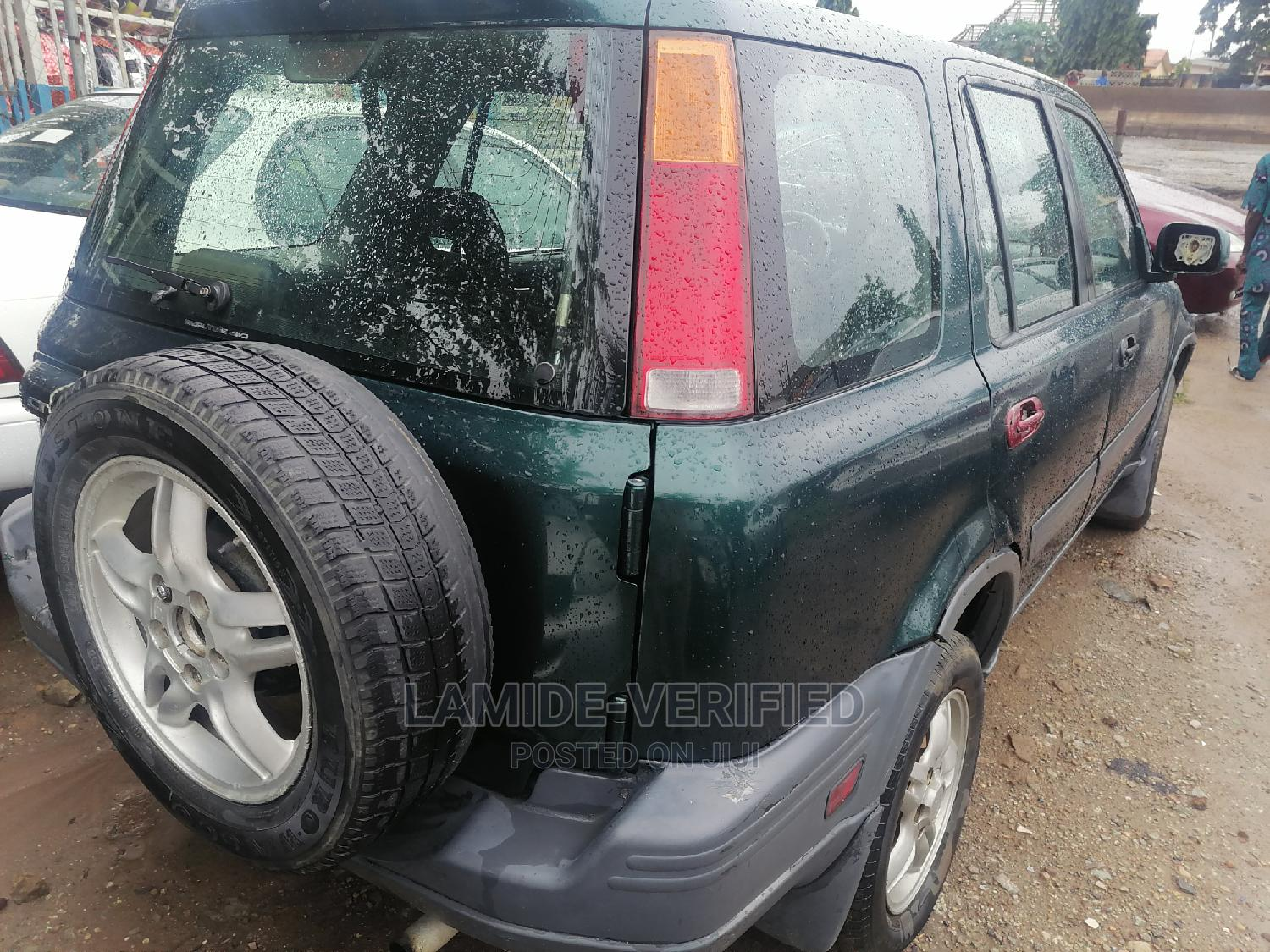 Archive: Honda CR-V 2000 2.0 4WD Automatic Green