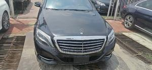 Mercedes-Benz S Class 2015 S 500 4MATIC (W222) Black   Cars for sale in Lagos State, Ajah