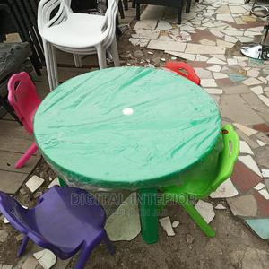 Children Plastic Table And Chair   Children's Furniture for sale in Lagos State, Ojo