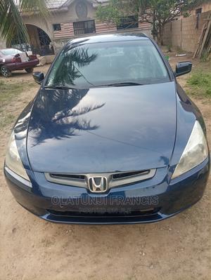 Honda Accord 2004 Automatic Blue | Cars for sale in Ogun State, Obafemi-Owode