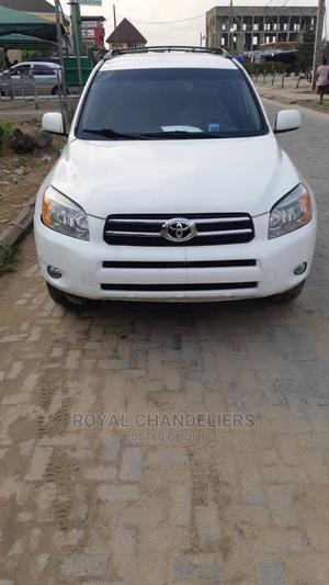 Toyota RAV4 2008 White | Cars for sale in Lagos State, Amuwo-Odofin