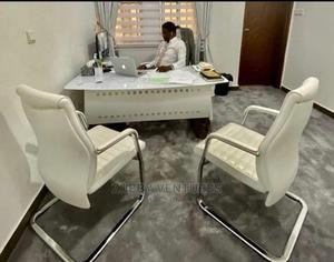 Executive Office Table,Executive Office CHAIR and 2-Visitor   Furniture for sale in Lagos State, Lagos Island (Eko)
