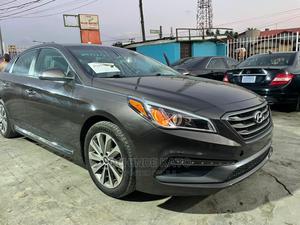 Hyundai Sonata 2015 Beige | Cars for sale in Lagos State, Ojodu