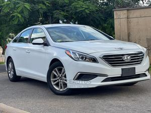 Hyundai Sonata 2016 White | Cars for sale in Abuja (FCT) State, Central Business District