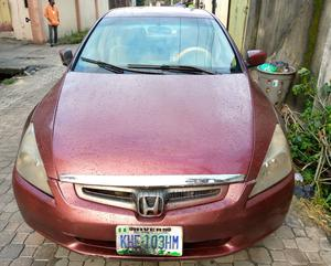 Honda Accord 2004 Red | Cars for sale in Rivers State, Port-Harcourt
