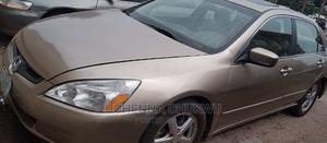 Honda Accord 2003 2.4 Automatic Gold | Cars for sale in Enugu State, Enugu