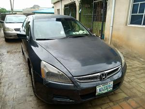Honda Accord 2007 2.4 Exec Automatic Gray | Cars for sale in Lagos State, Ikotun/Igando