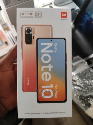 New Xiaomi Redmi Note 10 Pro Max 128 GB Gray   Mobile Phones for sale in Lagos State, Ikeja