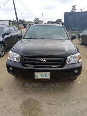 Toyota Highlander 2005 Black   Cars for sale in Lagos State, Amuwo-Odofin