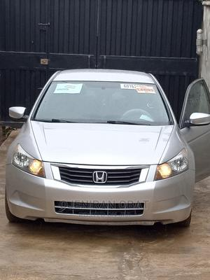 Honda Accord 2009 LX 2.4 Automatic Silver | Cars for sale in Oyo State, Egbeda