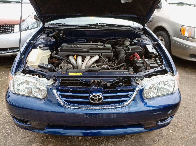 Toyota Corolla 2001 Sedan Blue | Cars for sale in Ikeja, Lagos State, Nigeria