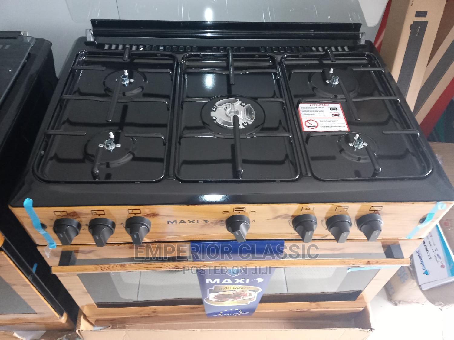 Archive: Maxi Gas Cooker
