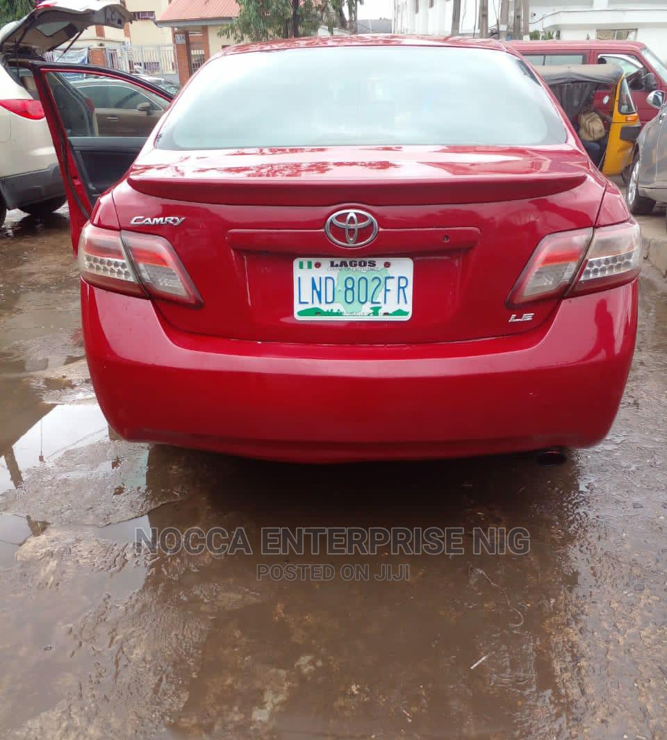 Toyota Camry 2008 Red   Cars for sale in Amuwo-Odofin, Lagos State, Nigeria