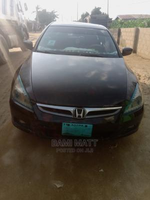 Honda Accord 2005 Sedan LX V6 Automatic Black | Cars for sale in Lagos State, Ikorodu