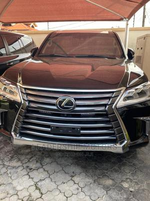 New Lexus LX 2021 570 AWD Black   Cars for sale in Lagos State, Ajah