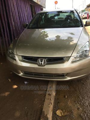 Honda Accord 2003 2.4 Automatic Gold | Cars for sale in Lagos State, Ipaja
