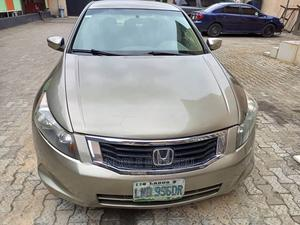 Honda Accord 2009 2.0 I-Vtec Automatic Gold   Cars for sale in Lagos State, Alimosho