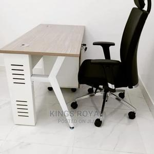 Imported Executive Office Table With Office Chair Swivel | Furniture for sale in Lagos State, Ikeja