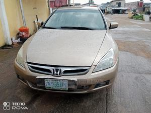 Honda Accord 2007 Gold   Cars for sale in Lagos State, Ojodu