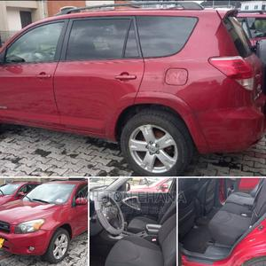Toyota RAV4 2008 3.5 Sport Red   Cars for sale in Rivers State, Port-Harcourt