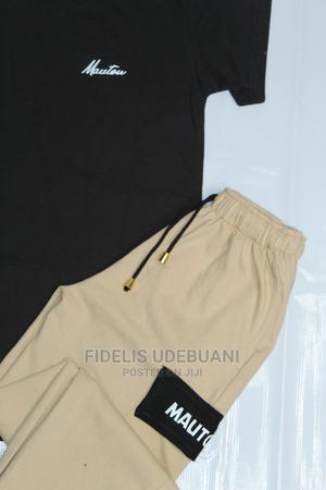 Mauton Unisex (2-In-1) Crested Tshirt Cargo Short Set   Clothing for sale in Lagos State, Lagos Island (Eko)