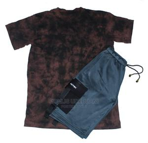 Mauton Men's (2-In-1) Cameo Tshirt Belted Cargo Shorts   Clothing for sale in Lagos State, Lagos Island (Eko)