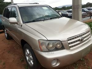 Toyota Highlander 2003 Gold | Cars for sale in Abuja (FCT) State, Katampe