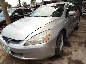 Honda Accord 2004 Silver   Cars for sale in Lagos State, Surulere